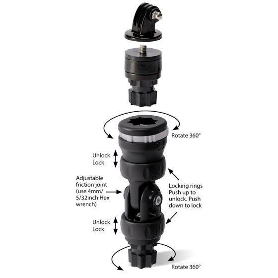 Railblaza R-Lock Camera Mount