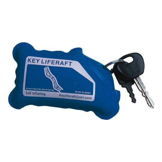 Aquamate Floating Key Liferaft Blue