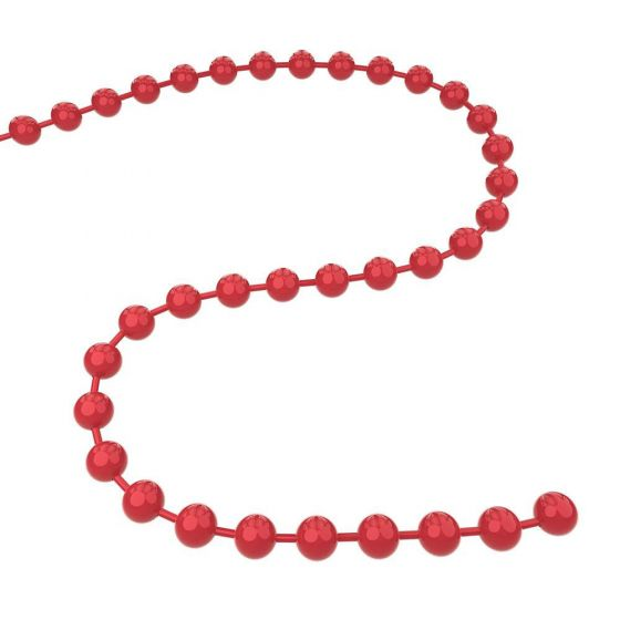Q-Link Brand Ball Chain Dynamic Red 30''