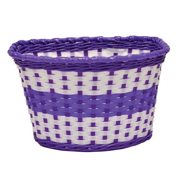 Oxford Junior Woven Basket-Lilac (590-BK140L)