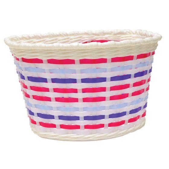 Oxford Junior Woven Basket-Multicoloured (590-BK140M)