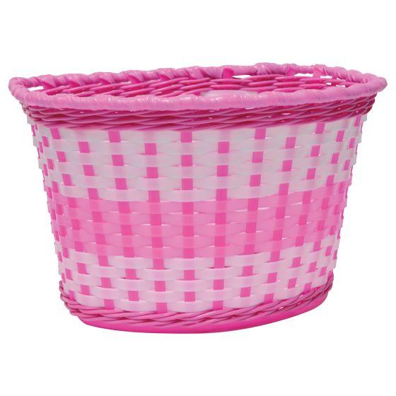 Oxford Junior Woven Basket-Pink (590-BK140P)