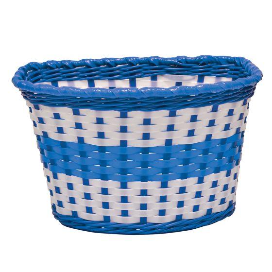 Oxford Junior Woven Basket-Blue (590-BK140U)