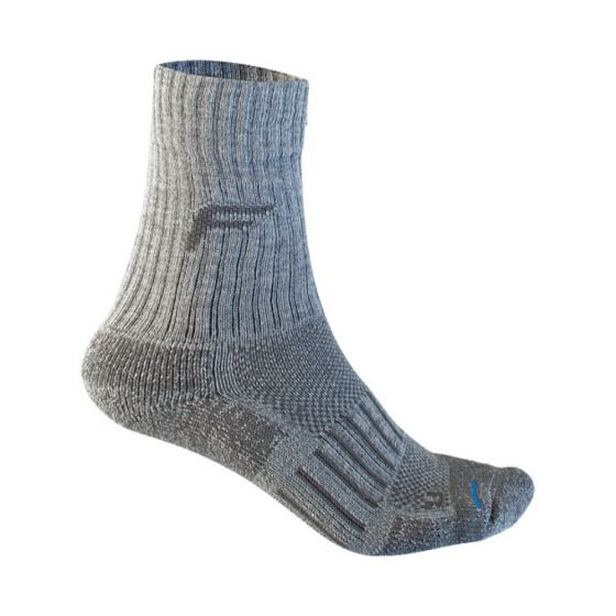 F-Lite Backpacking Pro Socks - 6-8 - Grey