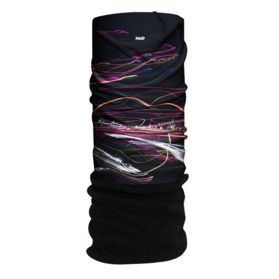 H.A.D. Originals Dancing Lights Black Fleece Black/Mcolour One Size