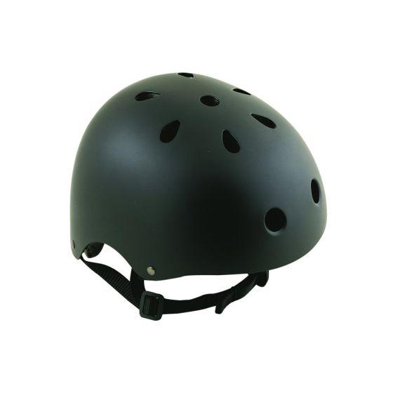 Oxford_Matt_Black_Bomber_Helmet_L