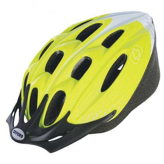 Oxford F15 Helmet Fluro Yellow Medium 54-58cm