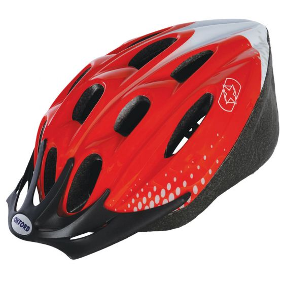 Oxford F15 Helmet - Red - Large