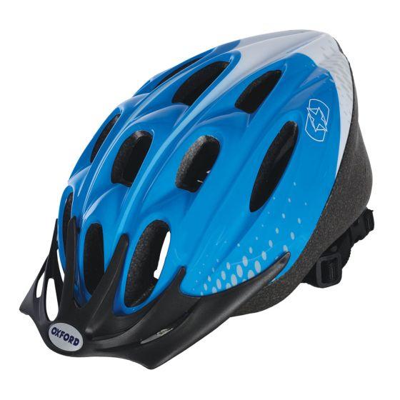 Oxford F15 Helmet Blue/White Large 58-61cm