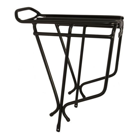 Oxford Alloy Luggage Rack-Black