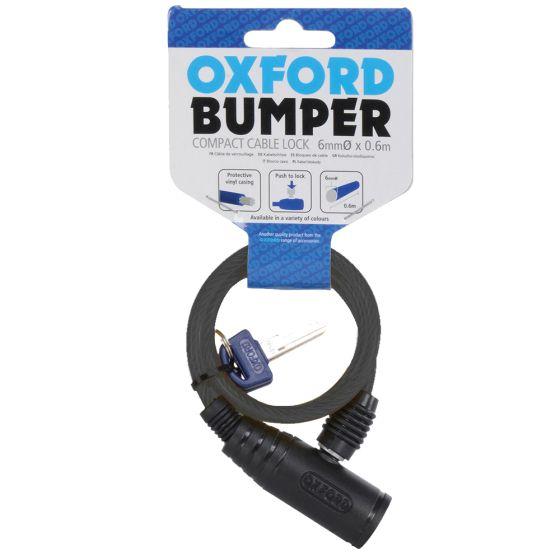 Oxford Bumper Cable Lock-Black