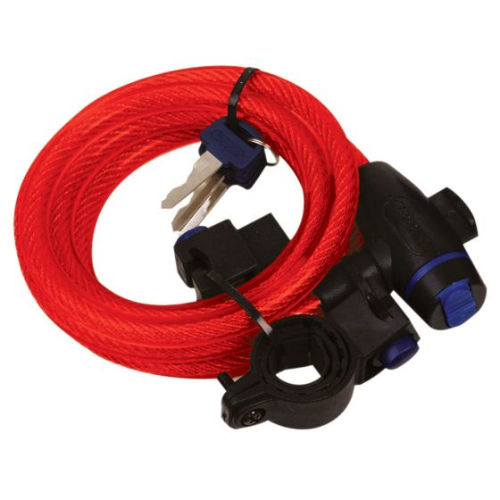 Oxford Cable Lock 1.8m/72'' x 12mm Red
