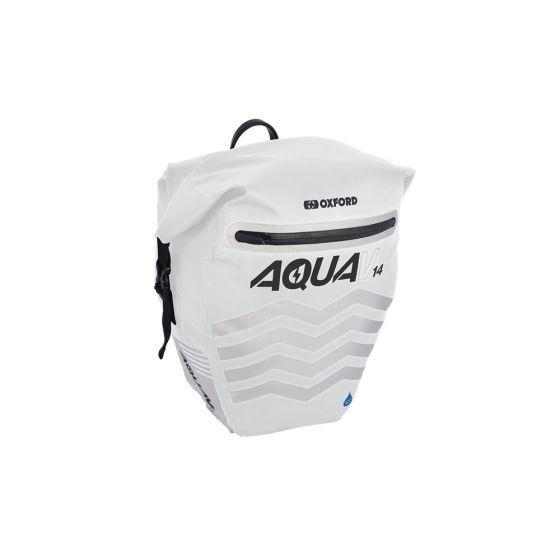 Oxford Aqua V 14 Pannier White