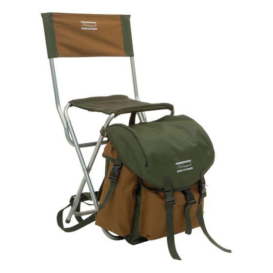 Shakespeare Deluxe Rucksack Chair - Brown/Green