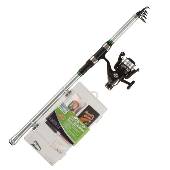 Shakespeare Catch More Fish 2 Telescopic Spinning Rod Combos