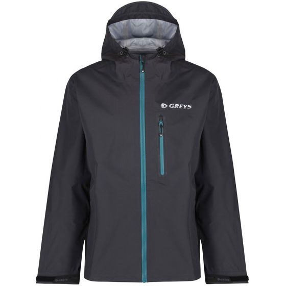 Greys Warm Weather Wading Jacket-Black L - (647-1436292)