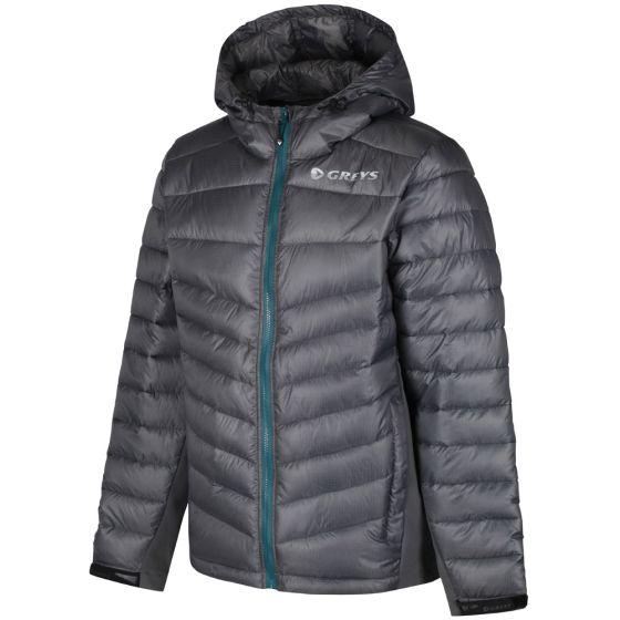 Greys Micro Quilt Jacket-Grey M - (647-1436299)