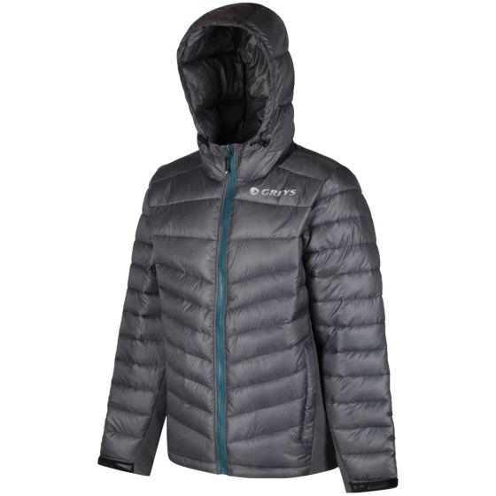 Greys Micro Quilt Jacket-Grey L - (647-1436300)