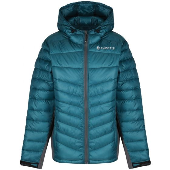 Greys Micro Quilt Jacket-Blue L- (647-1436304)
