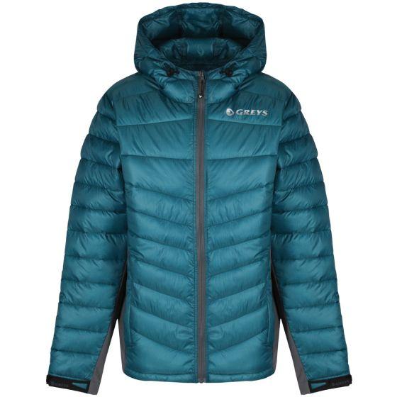 Greys Micro Quilt Jacket-Blue XL - (647-1436305)