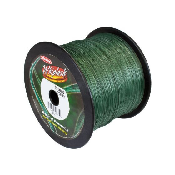 Berkley Whiplash 8 Braid - Green-2000m-0.28mm