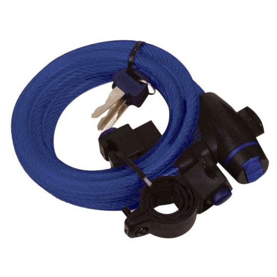 Oxford Cable Lock-Blue