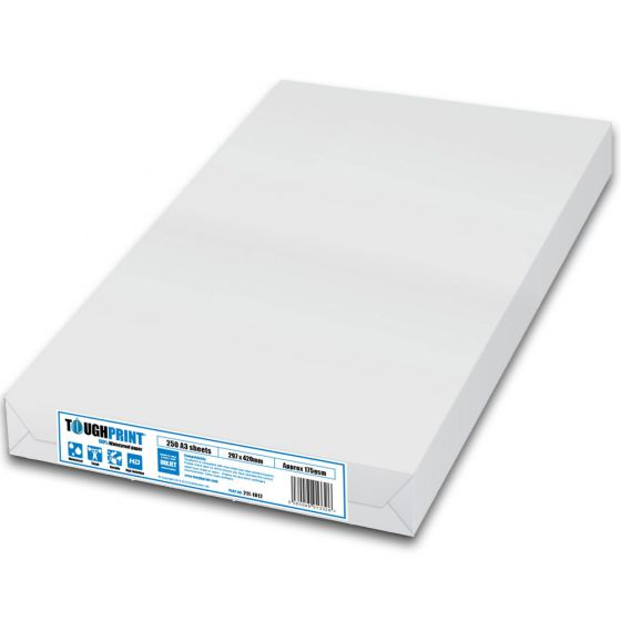 Toughprint Waterproof Paper-A3-Inkjet-250 Sheets