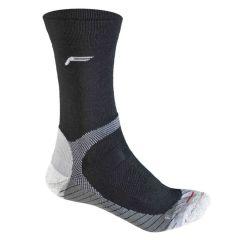 F-Lite Men's Trekking P 100 Socks - Black / Anthracite - 12 - 14