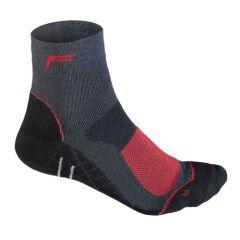 F-Lite Women's Merino Mtbike High Socks - Anthracite/Red