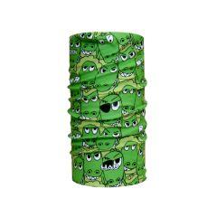 H.A.D. Originals Kids Kroko Scarf Green One Size