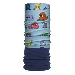 H.A.D. Originals Kid's Monster Family Fleece Scarf Blue/Mint One Size