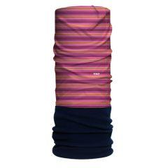 H.A.D. Originals Kid's Stripe Fleece Scarf Red/Orange/Blue One Size