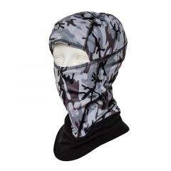 H.A.D. Special Winter Camou Mask Black/Grey One Size