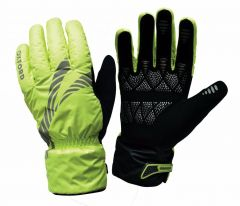 Oxford Storm Stop Waterproof Hi Vis Gloves - Yellow - Medium