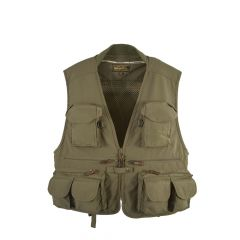 Snowbee_Men_Classic_Fly_Fishing_Vest_Waistcoat__-_Olive_Green,_Small