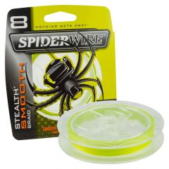 Spiderwire Smooth 8 Braid Yellow Fishing Line