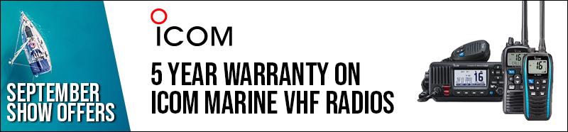 Icom 5 Year Warranty