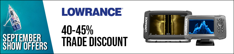 Lowrance Elite Ti2, Hook2, Increased trade discount, 40-45%