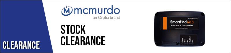 McMurdo stock clearance