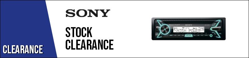 Sony Stock Clearance