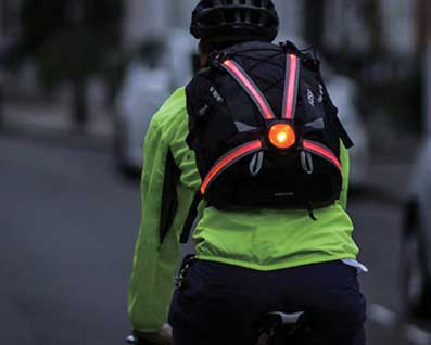 Cycling lights, locks, helmets, pannier bags and equipment